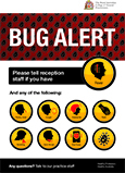 RACGP Bug Alert Poster