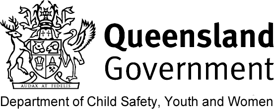 Qld Government Department of Child Safety, Youth and Women